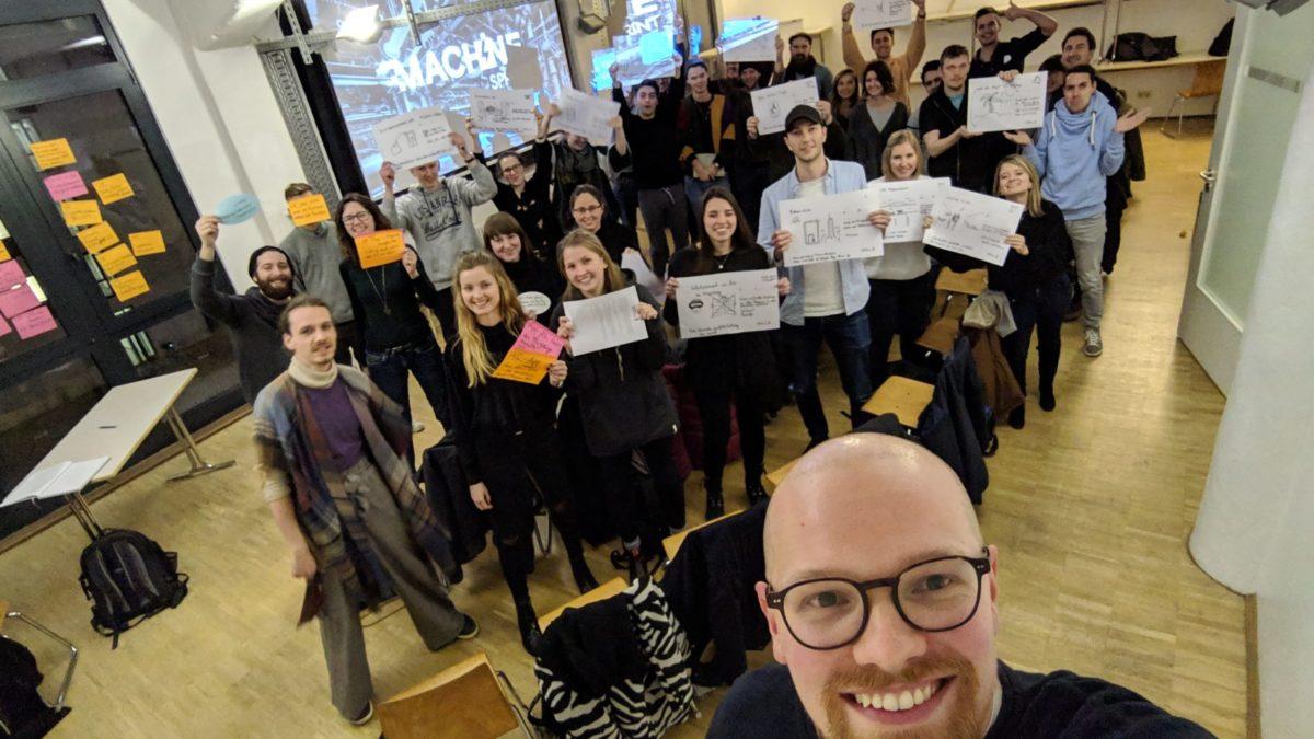 Google Workshop bei der Hamburg School of Ideas mit Henry Bose