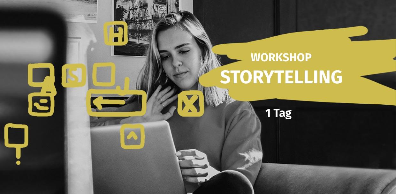 Header Storytelling