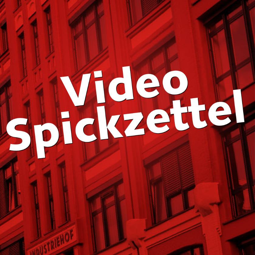 Bloppost_Video Spickzettel